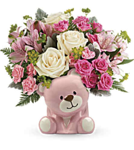 Cute Pink Teddy