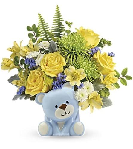 Cute Blue Teddy