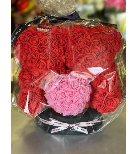 Special Foam Rose Teddy Bear
