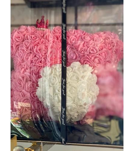 Special Foam Rose Teddy Bear3
