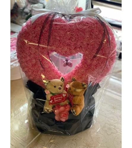 Special Love Foam Rose Heart
