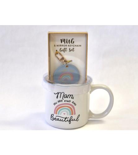 Mug & Keychain Gift Set