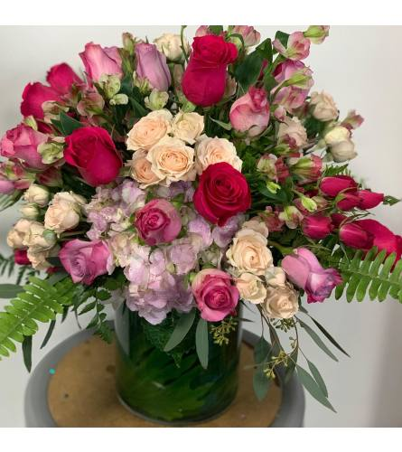 Rosy Outlook Bouquet