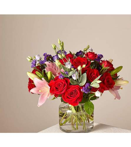 The Stunning Lily Bouquet