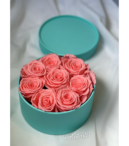 Pink Nectar Preserved Roses