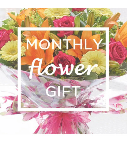 Monthly Flower Subscription - 12 months