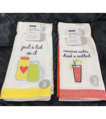 Tea Towel Gift For Mom