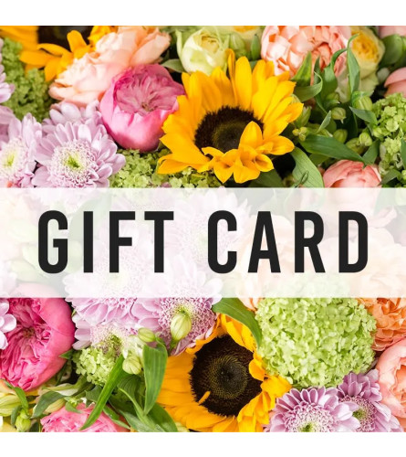 Jenny's Floral Gift Card