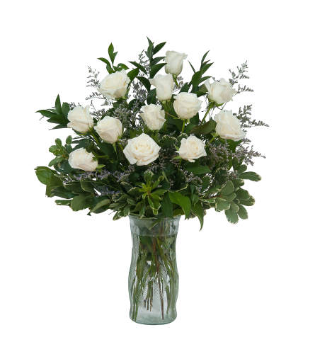 HEAVENLY WHITE ROSES