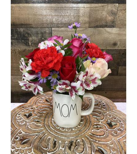 Mom Cup Floral Bouquet