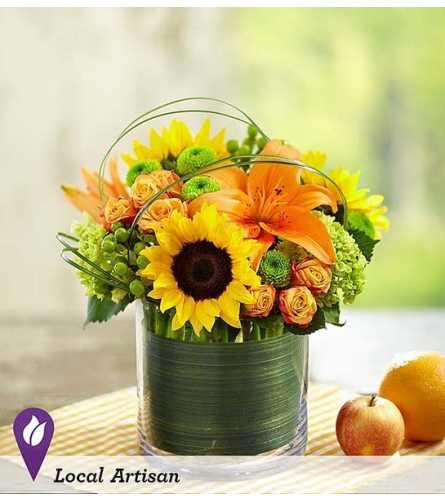 Mom's sunburst bouquet