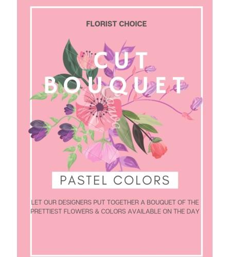 Pastel cut bouquet