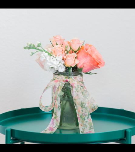 TR Floral - Mason Jar
