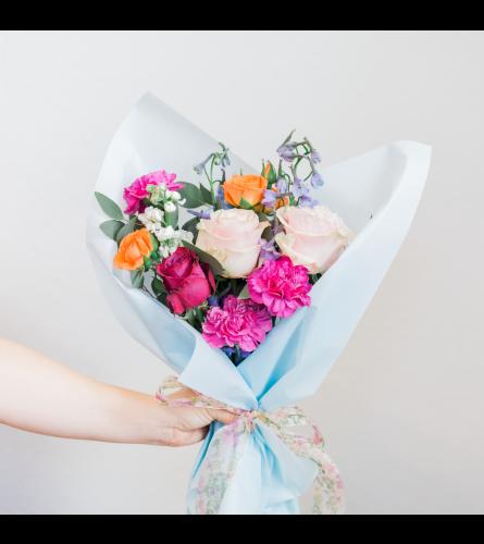 TR Floral - Wrapped Bouquet