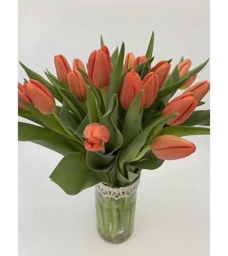 Orange you glad you ordered tulips