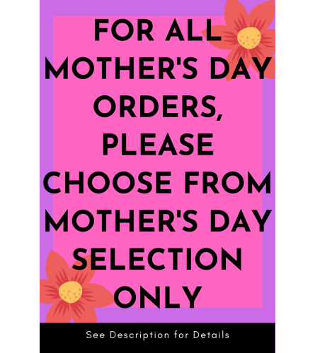 ATT: Mother's Day Orders