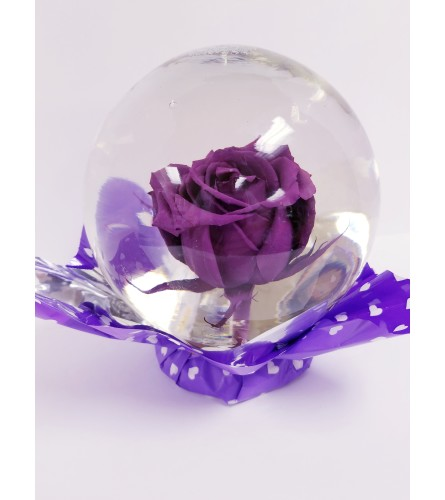 Flower Globe - Assorted Colors