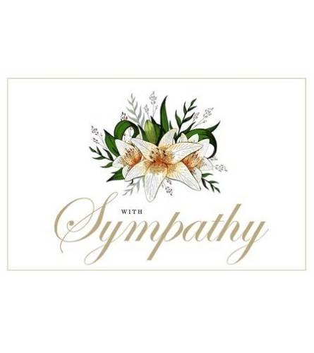 Florist choice Sympathy Arrangement