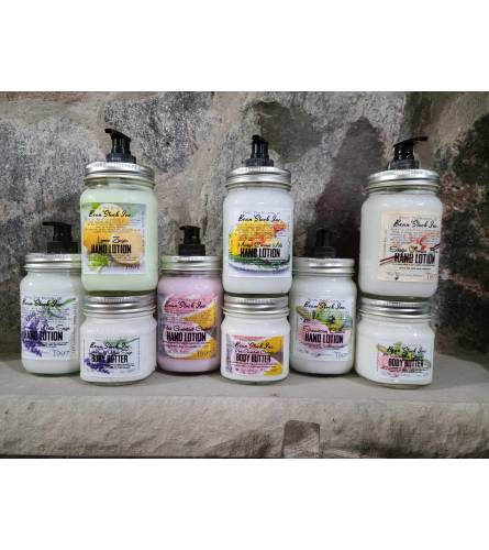 Bean Stock Lotions and Body Butter