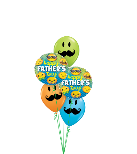 Smile. Happy Father's Day Classic Balloon Bouquet