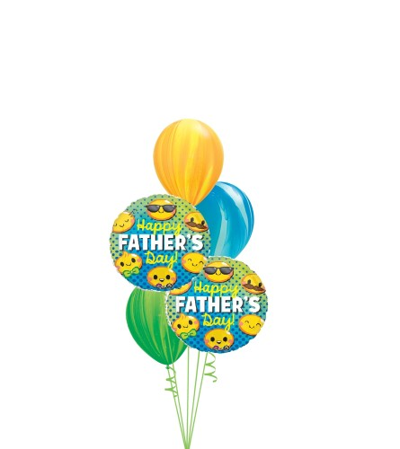 Father's Day Agates Classic Balloon Bouquet