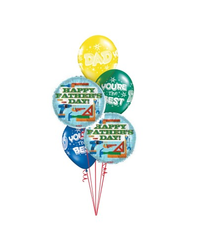Tool Time Classic Balloon Bouquet