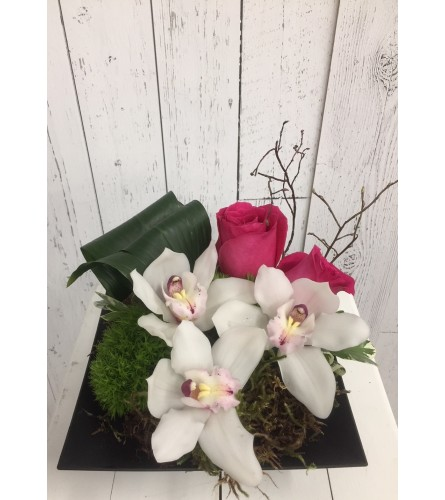 Summer Orchid Bouquet