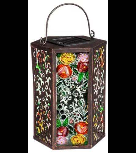 Floral Solar Lantern I