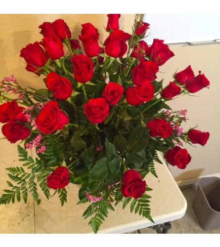 ROSES, ROSES & ROSES - 2 DOZEN