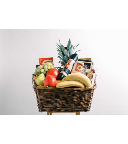Premium Fruit and Gourmet Basket