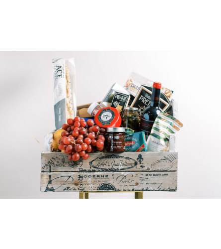 Luxe Charcuterie Gift Basket