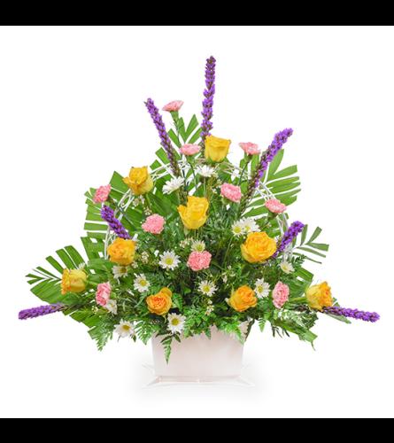 Sweet Comfort Funeral Basket