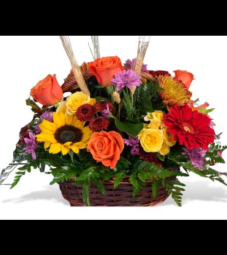 Harvest Time Basket