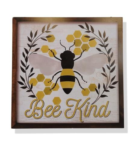 Bee Kind Wall Sign