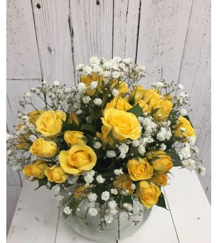 Mini Rosy Posy Bouquet