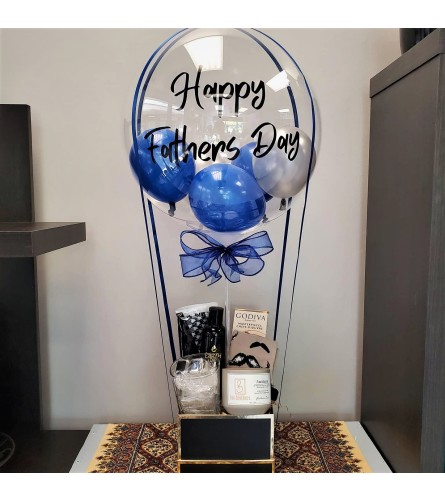 Father's Day Air Balloon Gift Set