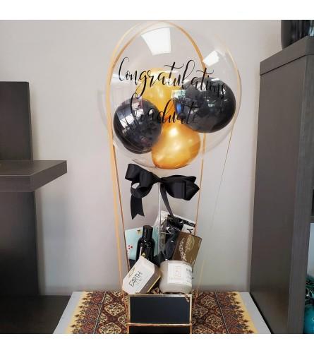 Grad Balloon Gift Set for Guys