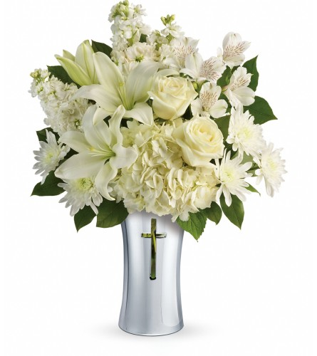 Shining Spirit Vase Bouquet