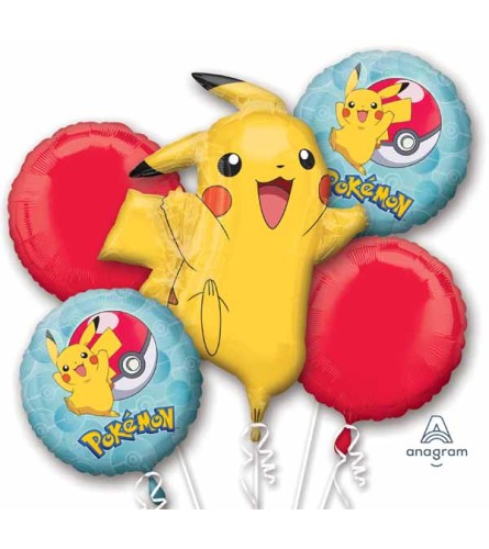 Pokémon Super Fun Foil Balloon Bouquet