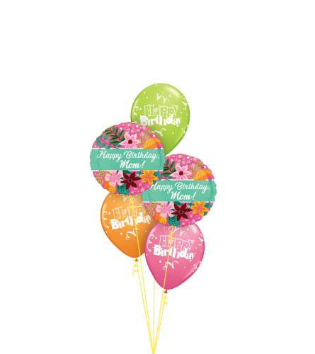 Happy Birthday To You Mom Classic Balloon Bouquet