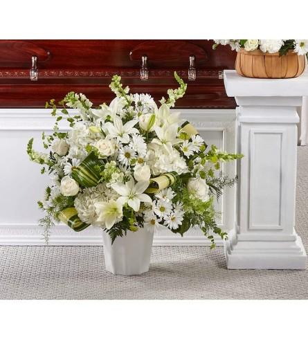 Funeral pure white