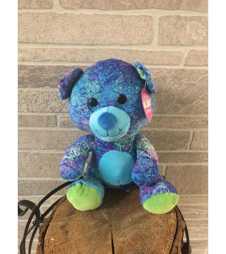 Plush Rainbow Bear