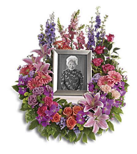 In Memoriam Urn Wreath