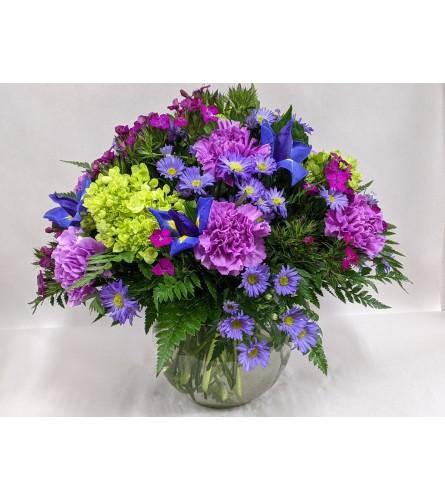 Talisman's Purple Paramour Bouquet