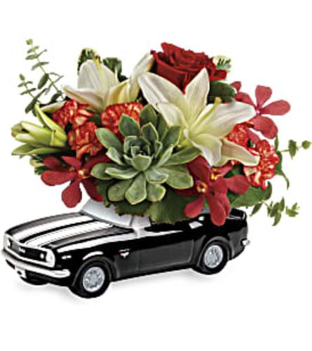 black camaro blooming bouquet