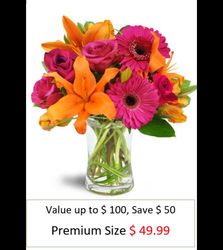 Vibrant Shine  Bouquet Premium Special Bouquet