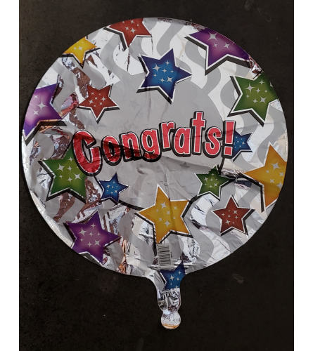 Congrats Balloon- Mylar