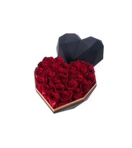Large Preserved Rose Heart
