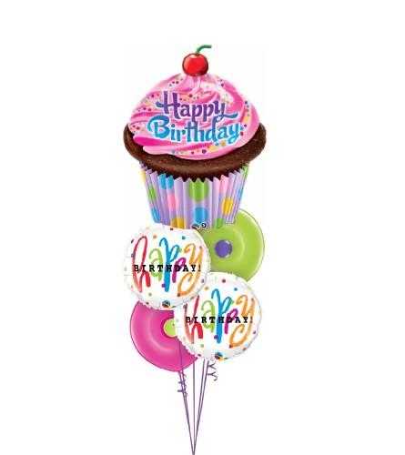Birthday Fun Colossal Balloon Bouquet