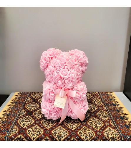 Pink Rose Teddy